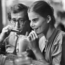 Woody Allen e Mariel Hemingway in Manhattan