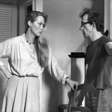 Woody Allen e Meryl Streep in Manhattan