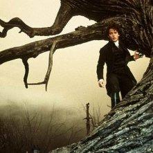 Johnny Depp in una foto promo per Il mistero di Sleepy Hollow