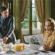 Daniel Auteuil e Kristin Scott Thomas in una scena del film Una top model nel mio letto