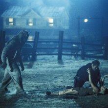 Una scena del film La casa del diavolo