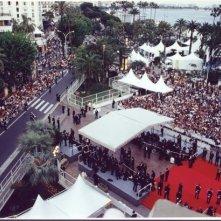 Il tappeto rosso a Cannes