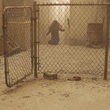 Jodelle Ferland in una scena di SILENT HILL, adattamento dell'omonimo videogioco