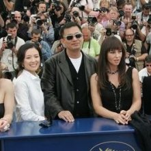 I giurati Bonham-Carter, Zhang, Wong, Bellucci e Martel