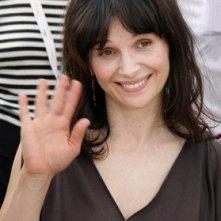 Juliette Binoche a Cannes per presentare Paris je t'aime