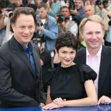 Tom Hanks, Audrey Tautou e Dan Brown