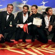 Gli attori di Indigènes, premiati per la migliore interpretazione maschile