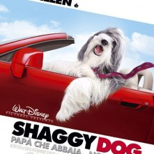 La locandina italiana di Shaggy Dog - Papà che abbaia... non morde
