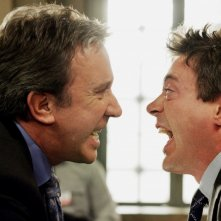 Tim Allen e Robert Downey Jr. in una scena di The Shaggy Dog