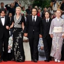 Il cast di Babel a Cannes