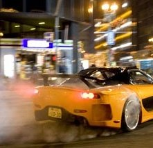Una scena del film The Fast and the Furious 3