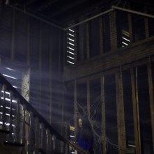 Jodelle Ferland in una suggestiva scena di SILENT HILL