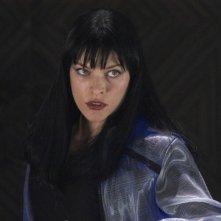 L'attrice di origine russa Milla Jovovich in una scena di Ultraviolet