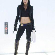 La sexy Milla Jovovich in una scena di Ultraviolet