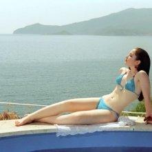 Gabriella Belisario al sole ne L'estate del mio primo bacio