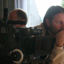 Il regista Igor Sterk sul set di 'Sintonia'