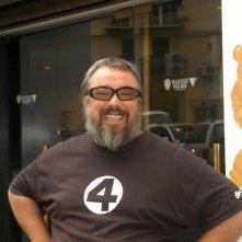 Álex de la Iglesia sorridente al Napoli Film Festival 2006