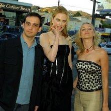 Alejandro Amenábar, Nicole Kidman e Naomi Watts a Los Angeles per l'anteprima di The Others