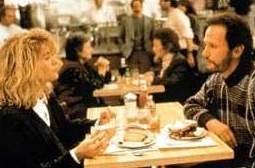 Billy Crystal con Meg Ryan in Harry, ti presento Sally