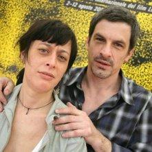 Veronica Chen e Rafael Ferro a Locarno 2006 per presentare il film Agua