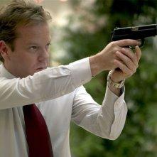 Kiefer Sutherland in una scena del film The Sentinel