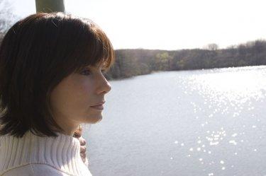 Sandra Bullock in  La casa sul lago del tempo