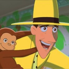 Una scena del cartoon Curioso come George