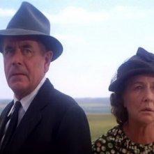 Glenn Ford e Phyllis Thaxter in una scena di SUPERMAN