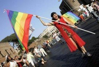 Vladimir Luxuria al Gay Pride 2006