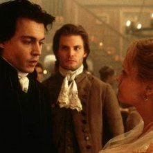 Casper Van Dien, Christina Ricci e Johnny Depp ne Il mistero di Sleepy Hollow