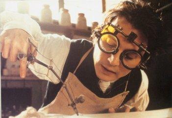 Johnny Depp in una scena del film Il mistero di Sleepy Hollow