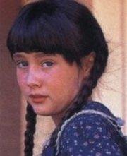 Una giovanissima Shannen Doherty nella serie tv 'La casa nella prateria'.