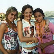 Eleonora Pedron, Francesca Cavallin e Benedetta Valanzano in una sequenza di Vita Smeralda