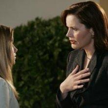 Geena Davis in una sequenza di 'Una donna alla Casa Bianca'