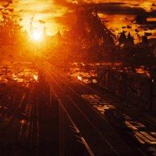 Una scena dell'action-fantasy film Kyashan - La rinascita