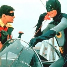 Adam West e Burt Ward nella serie tv 'Batman'