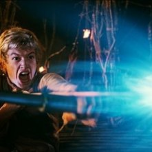 Edward Speleers in una sequenza di Eragon