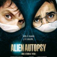 La locandina italiana di Alien Autopsy