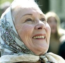 Rosemary Harris in una scena di 'Spider-man'