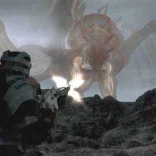Una delle creature del film Final Fantasy