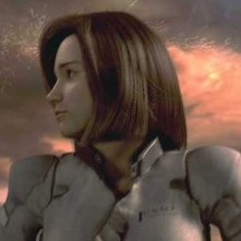 Una scena del film Final Fantasy