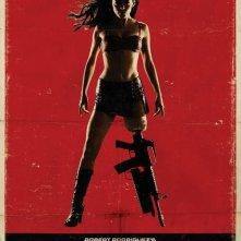 La locandina di Planet Terror, episodio di Grind House diretto da Robert Rodriguez