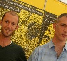 Locarno 2006 -  Nicolas Johnsone Arnold Pasquier, regista del film CELUI QUI AIME A RAISON