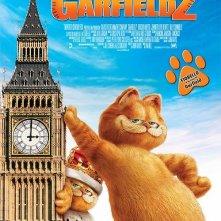 La locandina italiana di Garfield 2