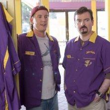 Jeff Anderson e Brian O'Halloran in una scena di Clerks II