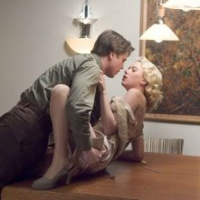 Josh Hartnett e Scarletrt Johansson in The Black Dahlia
