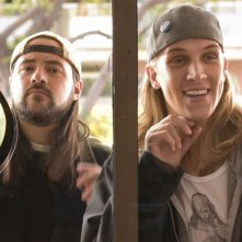 Kevin Smith e Jason Mewes in una scena di Clerks II