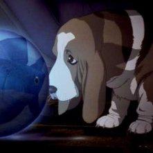 Una scena del film Ghost in the Shell 2