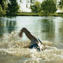 Una scena del film Agua