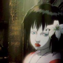 Una scena del film d'animazione Ghost in the Shell 2 - L'attacco dei cyborg